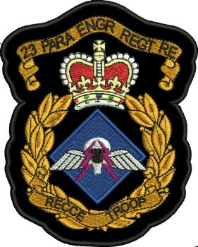 23 PARA ENGR REGT RE Embroidered Badge SALE